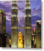 Petronas Towers Metal Print