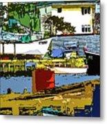 Petty Harbor Metal Print