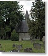 Pewsey Parish Council Cemetary Metal Print