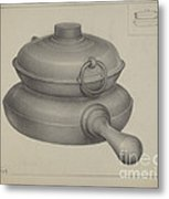 Pewter Pan Metal Print
