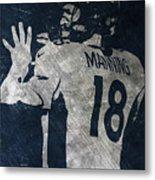 Peyton Manning Broncos 2 Metal Print