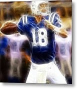 Peyton Manning Metal Print by Paul Ward