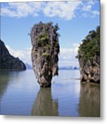 Phangna Bay Metal Print