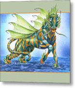 Phantasmal Mount Metal Print