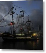 Phantom Ship Metal Print