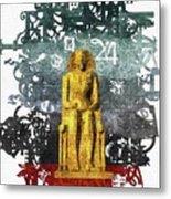 Pharaoh Of Egypt Metal Print