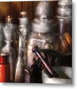Pharmacist - Tools Of The Pharmacist  Metal Print by Mike Savad