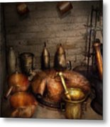 Pharmacy - Alchemist's Kitchen Metal Print
