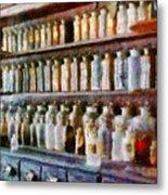 Pharmacy - Pick And Elixir Metal Print