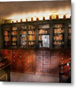 Pharmacy - The Apothecary Shop Metal Print