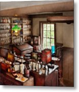 Pharmacy - Where I Make Medicine  Metal Print