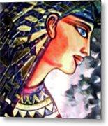 Pharoah Of Egypt Metal Print