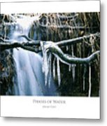 Phases Of Water Metal Print
