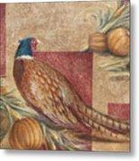 Pheasant I Metal Print