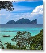 Phi Phi Islands Metal Print