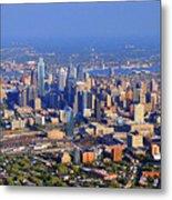 Philadelphia Aerial 0518 Metal Print by Duncan Pearson