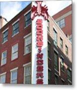 Philadelphia - Bookbinders Metal Print