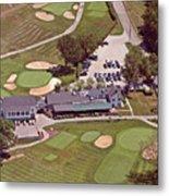 Philadelphia Cricket Club Flourtown Clubhouse 6075 W Valley Green Rd  Flourtown Pa  19031 Metal Print by Duncan Pearson