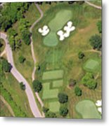 Philadelphia Cricket Club Militia Hill Golf Course 11th Hole Metal Print by Duncan Pearson