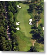 Philadelphia Cricket Club Militia Hill Golf Course 12th Hole Metal Print by Duncan Pearson