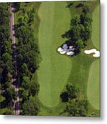 Philadelphia Cricket Club Militia Hill Golf Course 13th Hole Metal Print by Duncan Pearson