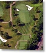 Philadelphia Cricket Club Militia Hill Golf Course 9th Hole Metal Print