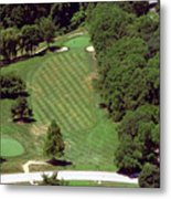 Philadelphia Cricket Club St Martins Golf Course 4th Hole 415 W Willow Grove Ave Phila Pa 19118 Metal Print by Duncan Pearson