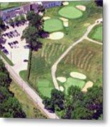Philadelphia Cricket Club Wissahickon Golf Course 10th Hole Metal Print by Duncan Pearson