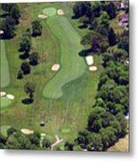 Philadelphia Cricket Club Wissahickon Golf Course 16th Hole Metal Print by Duncan Pearson