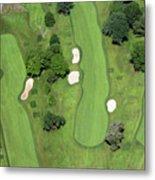 Philadelphia Cricket Club Wissahickon Golf Course 7th Hole Metal Print by Duncan Pearson