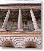 Philadelphia Library Pillars Metal Print