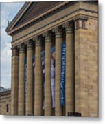 Philadelphia Museum Of Art  Metal Print