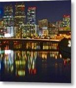 Philadelphia Pa River View Metal Print