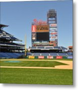 Philadelphia Phillies Stadium  Metal Print by Brynn Ditsche