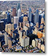 Philadelphia Rittenhouse Squarea 0471 Metal Print by Duncan Pearson