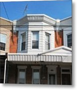 Philadelphia Row Houses Metal Print