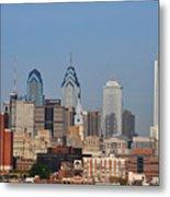 Philadelphia Standing Tall Metal Print
