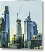 Philadelphia - Still Growing Metal Print
