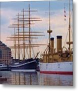 Philadelphia Waterfront Olympia Metal Print