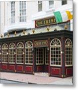 Philadelphia's Famous Irish Pub Metal Print