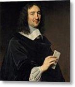 Philippe De Champaigne    Jean Baptiste Colbert 16191683 Metal Print