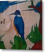 Philippine Kingfisher Painting Contest 6 Metal Print