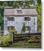 Philipsburg Manor House - Thru The Woods Metal Print