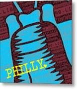 Philly Liberty Bell Metal Print