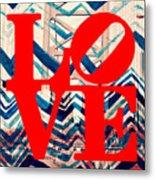 Philly Love V17 Metal Print