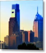 Philly Morning Metal Print