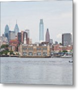 Philly Skyline Metal Print