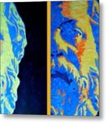 Philosopher - Socrates 2 Metal Print