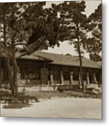 Phoebe A Hearst Social Hall Asilomar Pacific Grove Circa 1925 Metal Print
