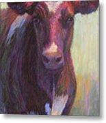 Phoebe Of Merry Mead Farm Metal Print